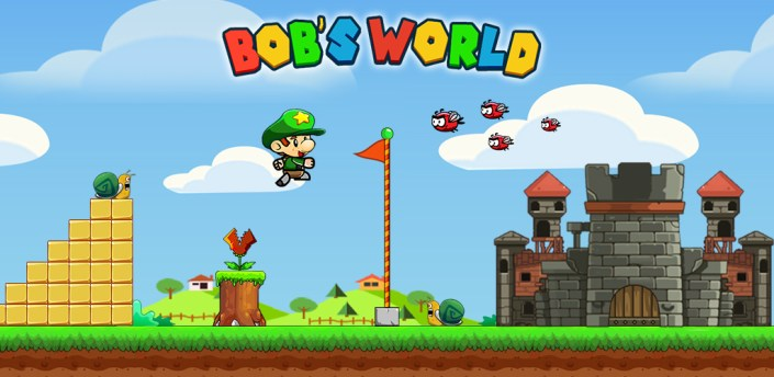 Super Bob's World: Jungle Adventure- Free Run Game apk