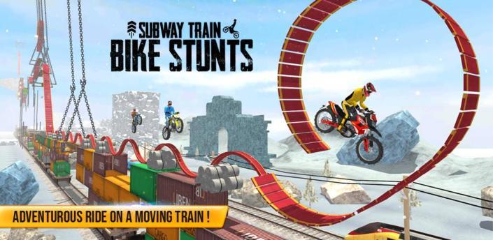 Subway Train - Bike Stunts apk