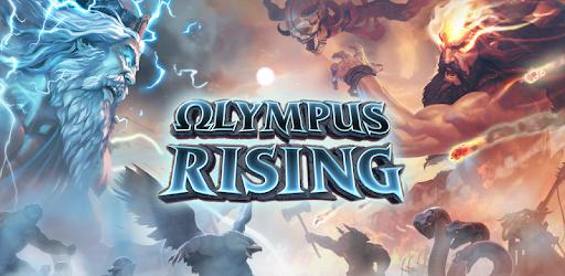 Olympus Rising: Hero Defense and Strategy game apk