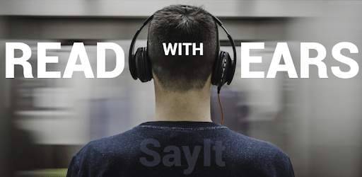 SayIt: Text, articles or books to speech apk