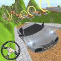 Extreme Car Mountain Climb 3D Icon