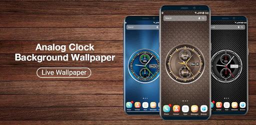 Analog Digital Clock on Screen Live Wallpaper 2019 apk
