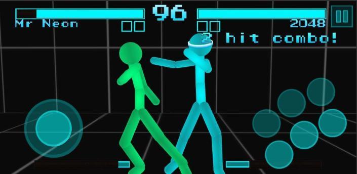 Stickman Fighting: Neon Warriors apk