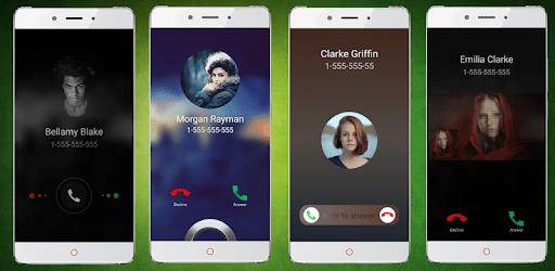 Call screen themes: Full screen caller id apk