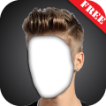 Boy Hairstyle Camera Montage Photo Editor Icon