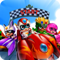 Toon Car Transform Racing Game Icon
