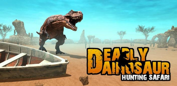 Deadly Dinosaur Shooting Game - Wild Dino Hunt apk
