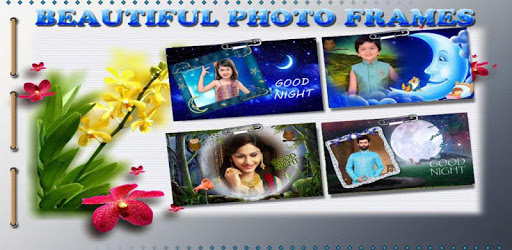 Good Night Photo Frames apk