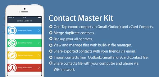 Contacts Backup Kit apk