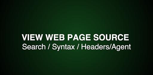 View Web Page Source apk