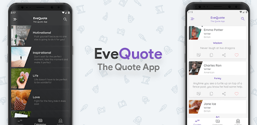 EveQuote - Read Quotes, create quote images & more apk