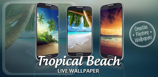 Tropical Beach Live Wallpaper apk