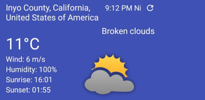 Your local weather apk
