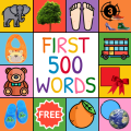 First Words Flashcards for baby/toddler/kids Icon