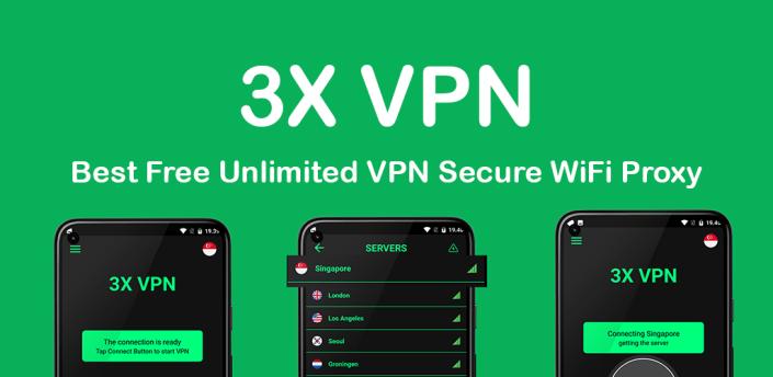 3X VPN - Free Fast Private & Secure VPN Proxy apk