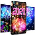 Happy new year 2021 live wallpaper Icon