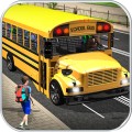 School Bus Driver Simulator Icon