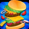 Burger Food Factory-Sky Burger Catcher Pro Icon