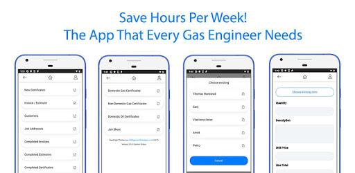 Gas Certificate App apk