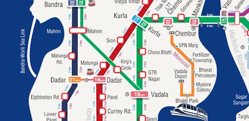 m-Indicator- Mumbai - Live Train Position apk