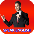 Speak English communication Icon