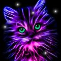 Neon Wallpaper of Animals Icon