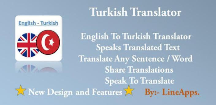 Turkish Translator apk