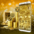 Gold Coin Launcher Theme Icon