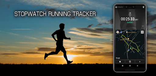 Stopwatch Run Tracker - Running, Jogging, Cycling apk