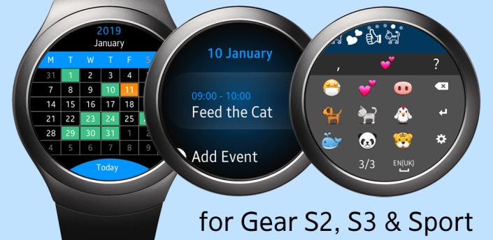 Calendar Gear - Google Calendar for Samsung Watch apk