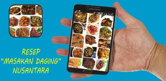 Resep Masakan Daging Nusantara apk