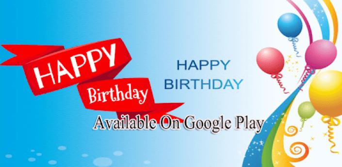 Souhaits d'anniversaire (Birthdays) apk