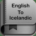 English to Icelandic Dictionary and Translator App Icon
