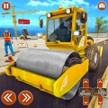City Construction Excavator: House Building Game Icon