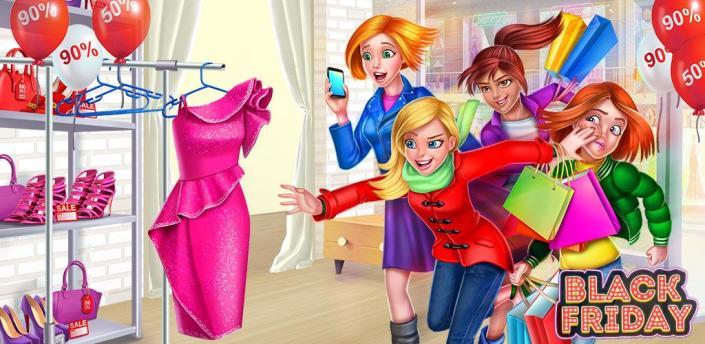 Shopping Mania - Black Friday Fashion Mall Game apk