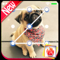 Cute Pug Puppy Lock Screen Pug Puppy Pattern Passcode 2019 Icon