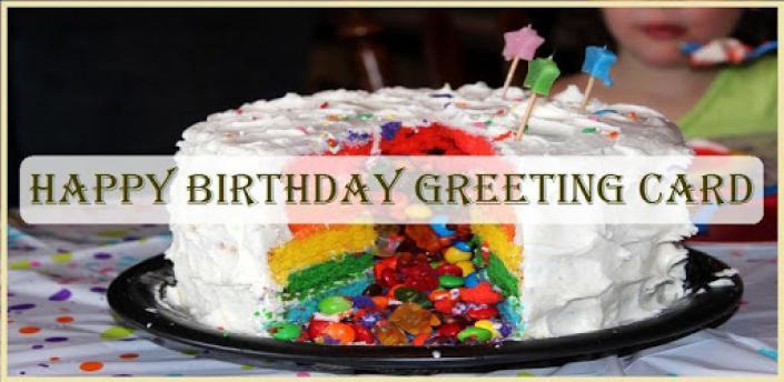 Happy Birthday Greeting Card apk