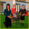 Single Mom Simulator: Family Mother Life Icon