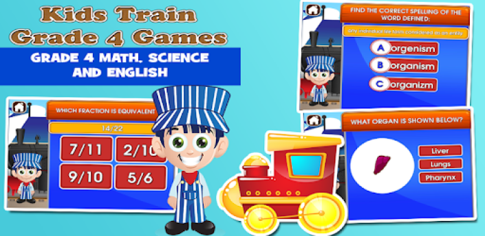 4th Grade Learning Games apk