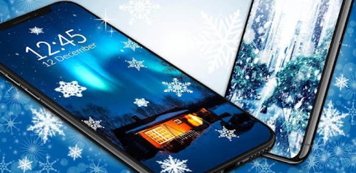 Winter Live Wallpaper ❄️ Frozen Snow Wallpapers apk