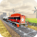 Indian Train Drive Simulator 2019 - Train Games Icon
