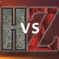 Humans vs Zombies Apocalypse Icon