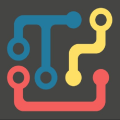 Rotating Pipes: Connecting Puzzle Icon