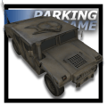 City Military Car Parking Icon