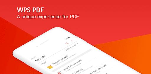 WPS PDF- lite PDF Reader, Viewer & Editor Free apk