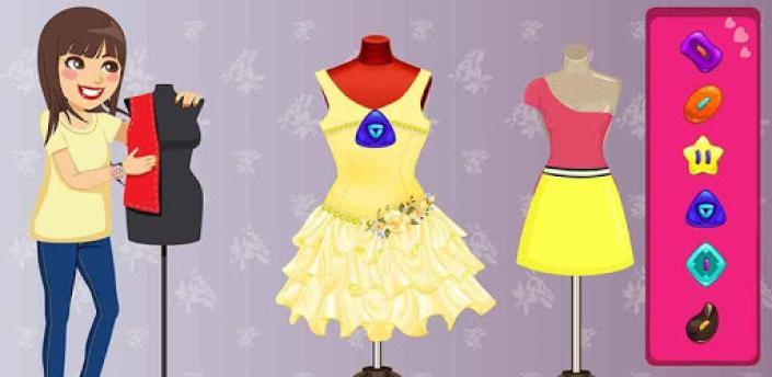 Little Fashion Tailor: kids Dress Games For Girls apk