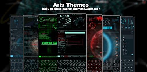 Hacker Theme - Aris Launcher apk