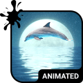Dolphin Animated Keyboard Icon