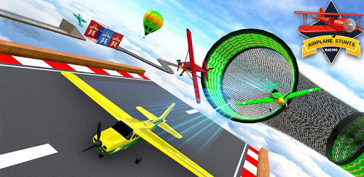 Airplane Stunts Racing Games : Impossible Tracks apk