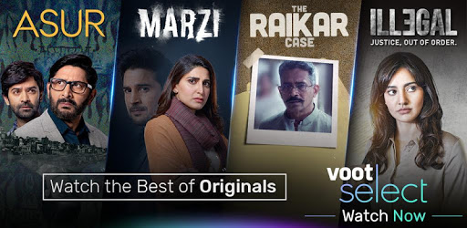Voot Select Originals, Colors TV, MTV & more apk